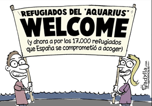 editorial refugiados